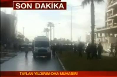 İzmir'deki patlamayı anlattı - 6 Ocak 2017 11:14