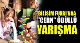 """Büyükşehir'in Bilişim Fuarı'nda """"Cern"""" Ödüllü Yarışma"""