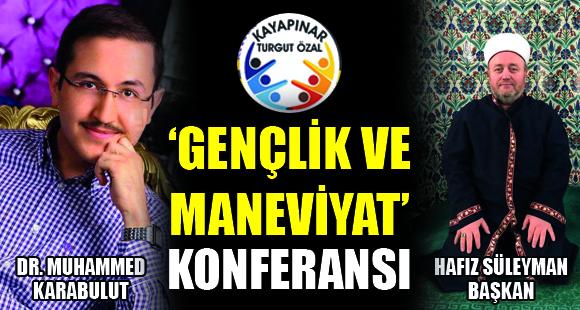 Dilovası Kayapınar Turgut Özal Mahallesi Gençlik Derneğinden Konferans - 20 Mart 2018 14:27