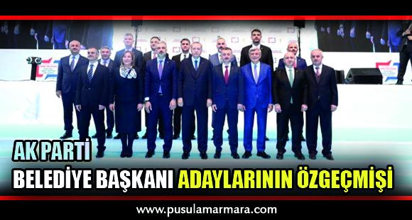 Ak Parti Adaylarının Özgeçmişi - 12 Ocak 2019 18:31