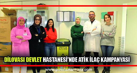 Dilovası Devlet Hastanesi'nde atik ilaç kampanyasi