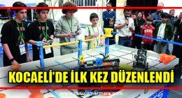 Robotlar, Kocaeli Bilim Merkezi'nde yarıştı