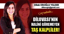 DİLOVASI'NIN HALİNİ GÖREMEYEN TAŞ KALPLİLER!