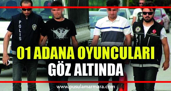 Adana Sıfır Bir'in oyuncuları uyuşturucu madde kullanımına özendirmeden gözaltına alındı