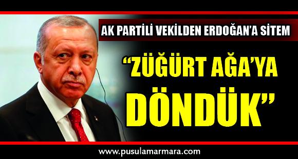 AK Partili vekilden Erdoğan'a yeni sistem sitemi - 11 Temmuz 2019 13:32