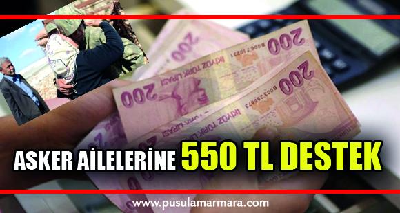 Devlet, muhtaç asker ailelerine 2 ayda bir 550 lira destek veriyor - 19 Temmuz 2019 10:22
