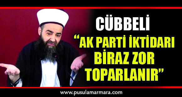 """Cübbeli Ahmet'ten dikkat çeken """"yeni parti"""" yorumu: AK Parti iktidarı biraz zor toparlanır"""