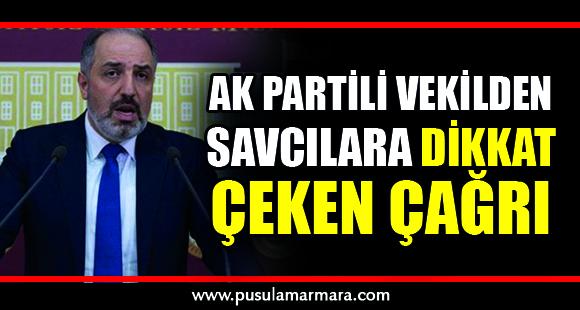 AK Partili vekilden savcılara çağrı - 29 Temmuz 2019 14:24