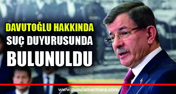 Ahmet Davutoğlu'nun terörle mücadele sözleri hakkında suç duyurusunda bulunuldu - 27 Ağustos 2019 12:34