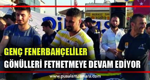 Dilovası Genç Fenerbahçeliler aşure dağıttı