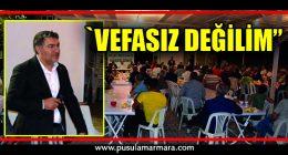 Başkan Şayir, Diliskelesi'nde Vatandaşla Buluştu