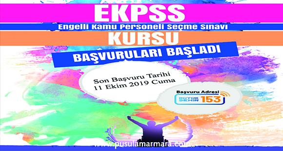 Büyükşehir'den E-KPSS kursu - 7 Ekim 2019 12:22