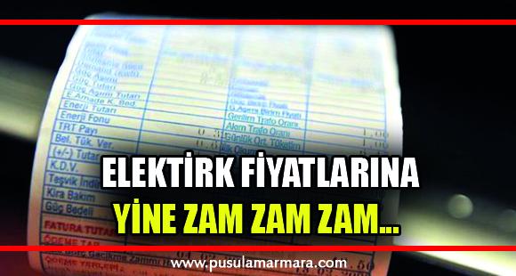 Elektrik fiyatlarına yüzde 14.9 zam geldi - 1 Ekim 2019 12:42