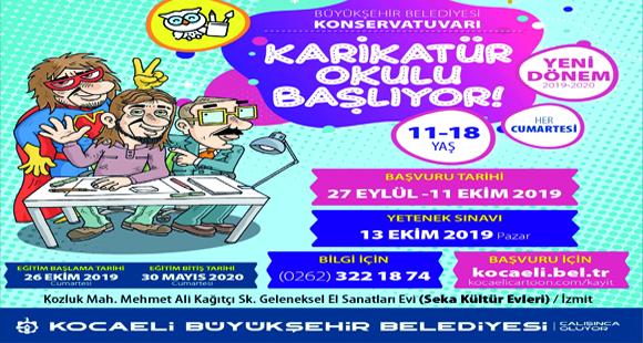 Karikatür okulu başlıyor - 2 Ekim 2019 16:08