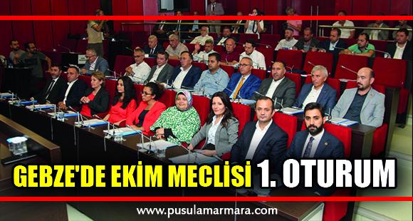 Gebze'de Ekim Meclisi İlk Oturum