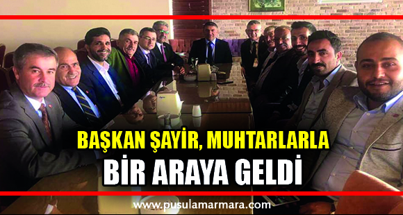 """""""MUHTARLARIMIZI ÖNEMSİYORUZ"""""""