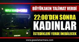 'Mutlu Şehir Kocaeli' tabelalı otobüsler