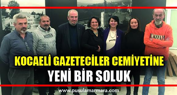 Kocaeli'ye yeni bir gazeteciler cemiyeti