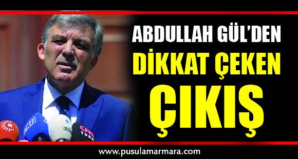 Eski Cumhurbaşkanı Gül, suskunluğunu bozdu - 10 Aralık 2019 14:31
