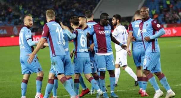 Trabzonspor, BB Erzurumspor'u 5-0 yendi - 5 Şubat 2020 16:50