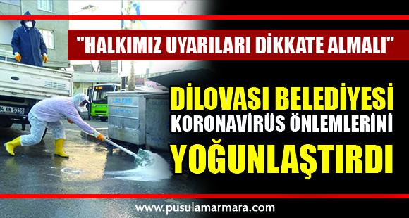 Dilovası Belediyesi Koronavirüs önlemlerini yoğunlaştırdı - 20 Mart 2020 16:01