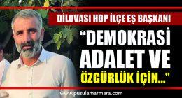 Dilovası HDP İlçe Eş Başkanı
