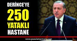 Cumhurbaşkanı Erdoğan: Derince'ye 250 yataklı hastane yapıyoruz
