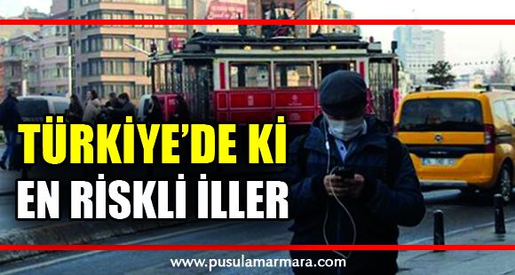 Sağlık Bakanı Fahrettin Koca, koronavirüsle ilgili Türkiye'deki en riskli illeri tek tek sıraladı