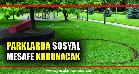 Parklarda sosyal mesafe korunacak - 2 Haziran 2020 16:42