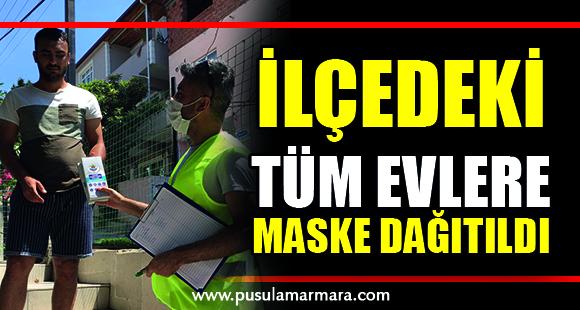 Başkan Şayir'den 16 Bin Haneye Maske - 14 Temmuz 2020 12:00