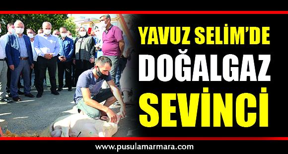 Gebze Yavuz Selim'de Doğalgaz Sevinci