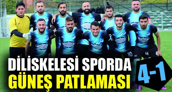 Diliskelesi Spor'un Dördüncü Gol 4 Numaralı Futbolcudan - 6 Kasım 2017 11:00
