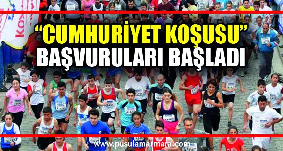 """""""Cumhuriyet Koşusu"""" için başvurular başladı"""