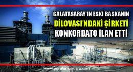Galatasaray'ın eski Başkanı Ünal Aysal'ın şirketi konkordato ilan etti