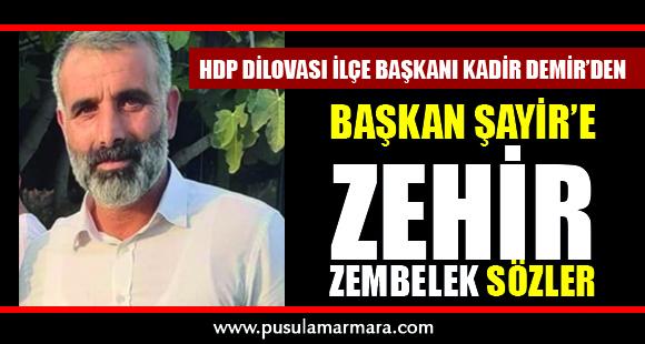 """""""Şayir halkı ayrıştırıyor ateşle oynuyor """" - 5 Kasım 2019 17:19"""
