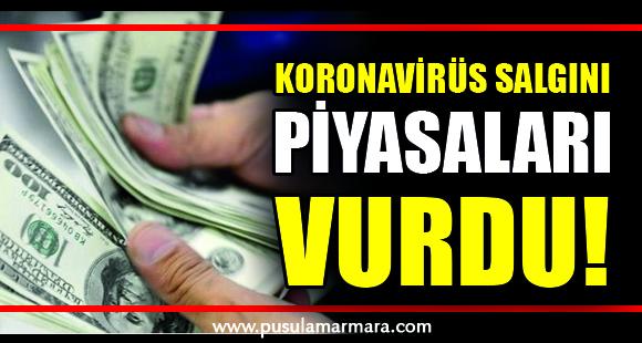Koronavirüs salgını piyasaları vurdu! Dolar kuru 6.40'ı aştı - 16 Mart 2020 18:29