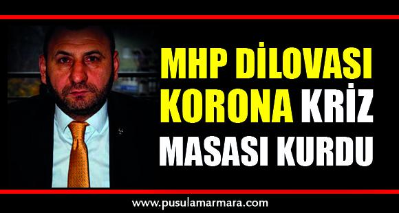 MHP Dilovası Korona kriz masası kurdu