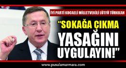 İYİ Parti Kocaeli Milletvekili Lütfü Türkkan