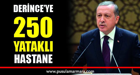 Cumhurbaşkanı Erdoğan: Derince'ye 250 yataklı hastane yapıyoruz - 13 Nisan 2020 21:55