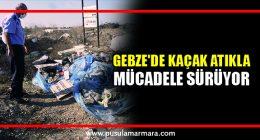 Gebze'de kaçak atığa ceza